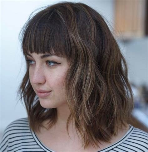 The Best 20 Modern Ways To Style A Long Bob With Bangs Pictures