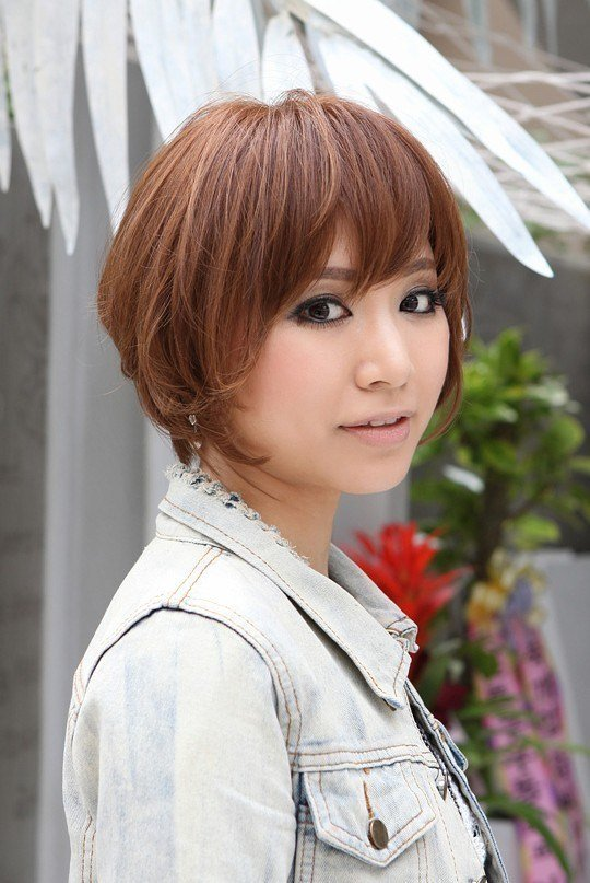 The Best Trendy Short Copper Haircut From Japan Stacked Short Pictures