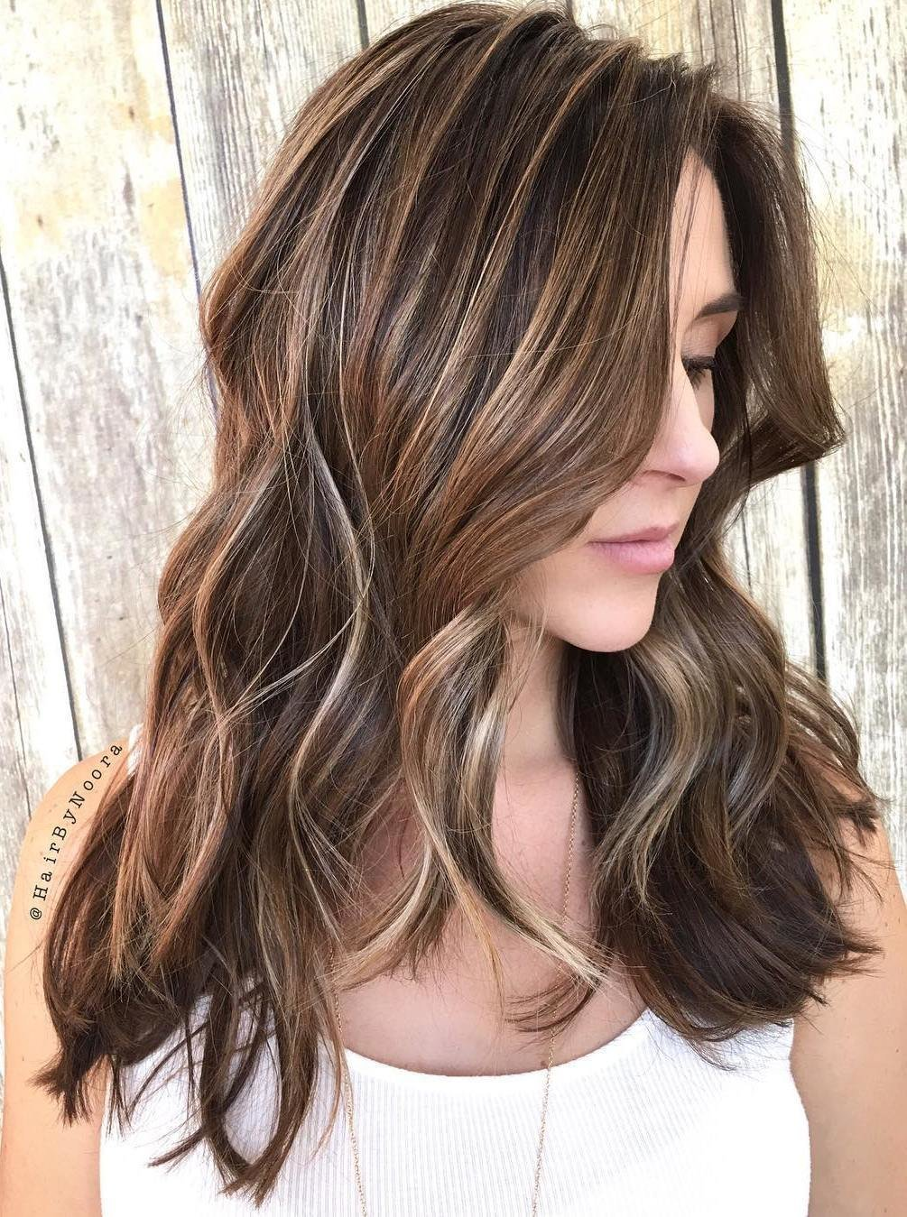 The Best 50 Light Brown Hair Color Ideas With Highlights And Lowlights Pictures