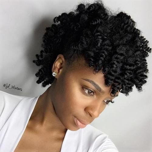 The Best 40 Creative Updos For Curly Hair Pictures