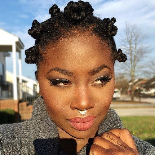 The Best 20 Fabulous Ways To Style Bantu Knots Pictures Original 1024 x 768