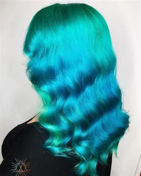 The Best Ocean Hair Trend Is Taking Blue Hair To The Next Level Pictures