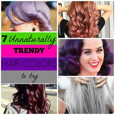 The Best Remodelaholic 7 Unnaturally Trendy Hair Colors To Try Pictures
