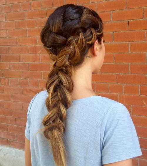 The Best 30 Elegant French Braid Hairstyles Pictures Original 1024 x 768