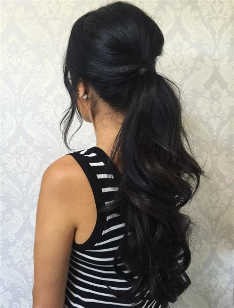 The Best 30 Eye Catching Ways To Style Curly And Wavy Ponytails Pictures