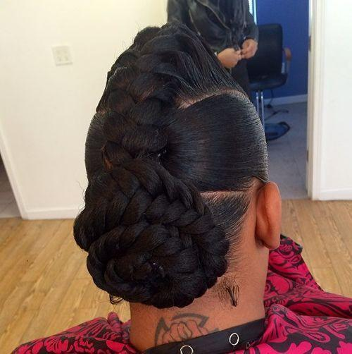 The Best 60 Inspiring Examples Of Goddess Braids Pictures