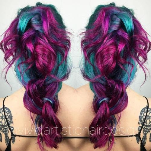 The Best 20 Unboring Styles With Magenta Hair Color Pictures
