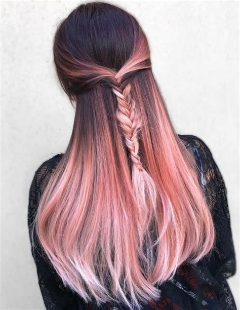 The Best 20 Brilliant Rose Gold Hair Color Ideas For 2019 Pictures