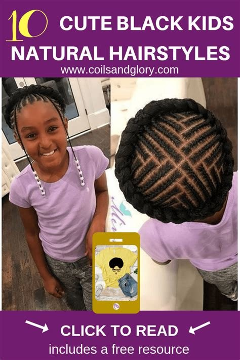 The Best 10 Cute Trendy Back To School Natural Hairstyles For Pictures