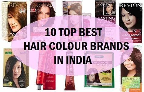The Best Top 10 Best Professional Hair Dye Brands In India Pictures
