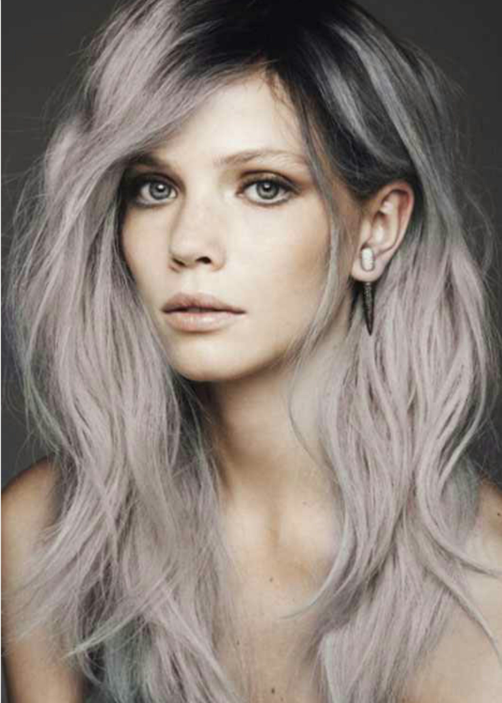 The Best Trend Alert Grey Hair La Femme Rebelle Clothing Pictures