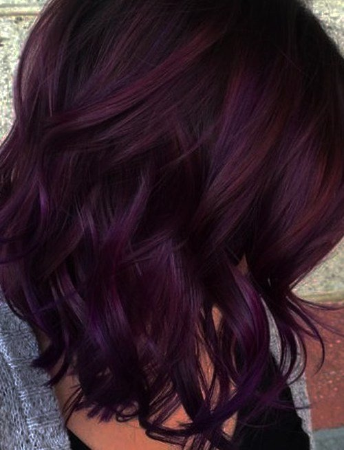 The Best Mane Addicts How To Wear Blackberry Hair Color Trend Pictures
