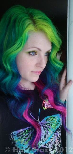The Best Urs S Multi Coloured Hair Haircrazy Com Pictures