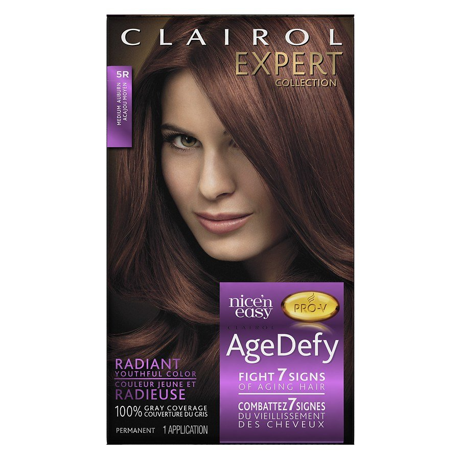 The Best Clairol Expert Collection Age Defy Permanent Hair Color 5R Pictures