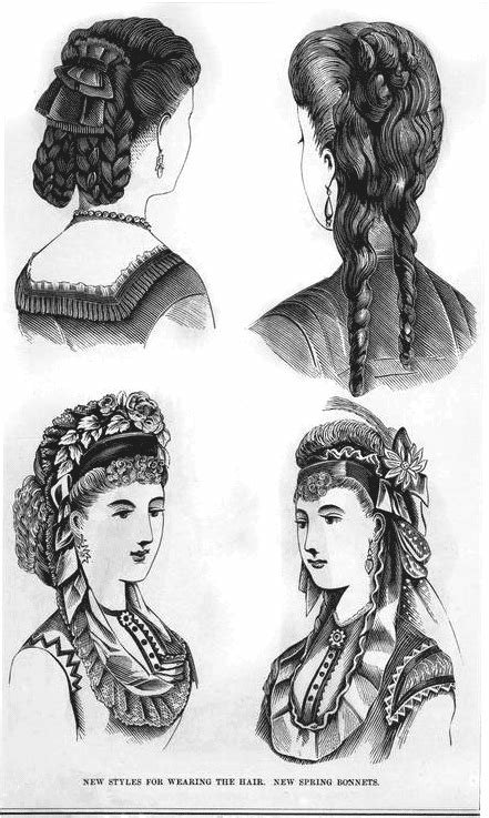 The Best The Hottest Hairstyles From 1870 Click Americana Pictures Original 1024 x 768