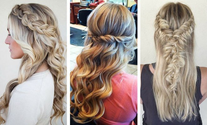 The Best 26 Stunning Half Up Half Down Hairstyles Stayglam Pictures