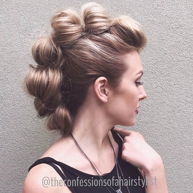 The Best 23 Faux Hawk Hairstyles For Women Stayglam Pictures
