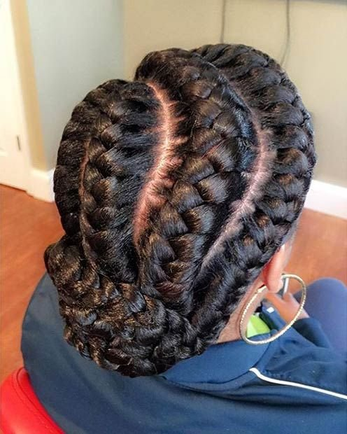 The Best 51 Goddess Braids Hairstyles For Black Women Page 2 Of 5 Pictures