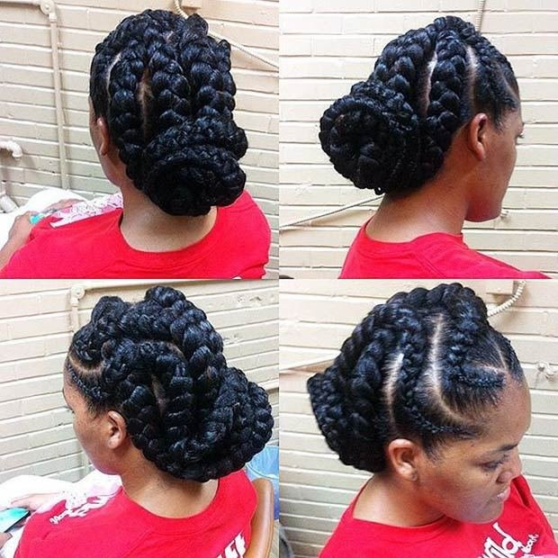 The Best 51 Goddess Braids Hairstyles For Black Women Stayglam Pictures