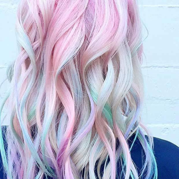 The Best 21 Pastel Hair Color Ideas For 2018 – Stayglam Page 2 Pictures