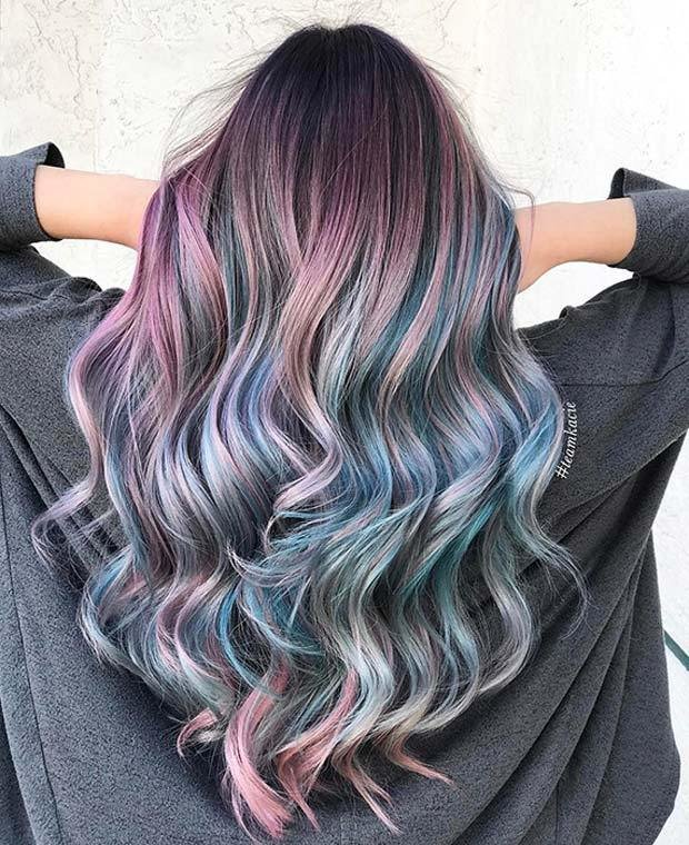 The Best 23 Unique Hair Color Ideas For 2018 – Stayglam Page 2 Pictures
