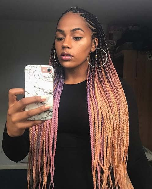The Best 68 Best Black Braided Hairstyles To Copy In 2019 Page 2 Pictures
