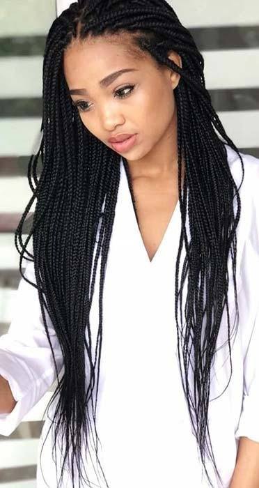 The Best 23 Best Long Box Braids Hairstyles And Ideas Stayglam Pictures