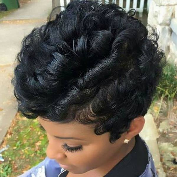 The Best 49 Perfect Curly Weave Hairstyle That Turns Your Head In Pictures
