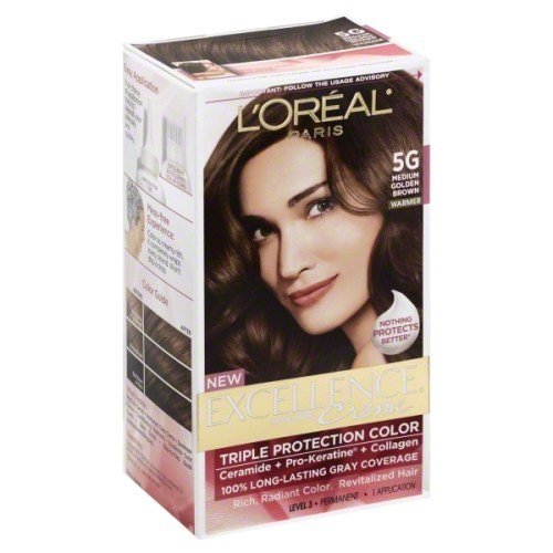 The Best L Oreal Excellence 5G Medium Golden Brown Pictures