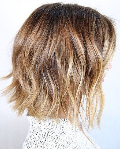 The Best Bronde Highlights And Beachy Bob Hairstyle – Mane Interest Pictures