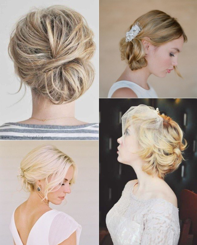 The Best 9 Short Wedding Hairstyles For Brides With Short Hair Pictures