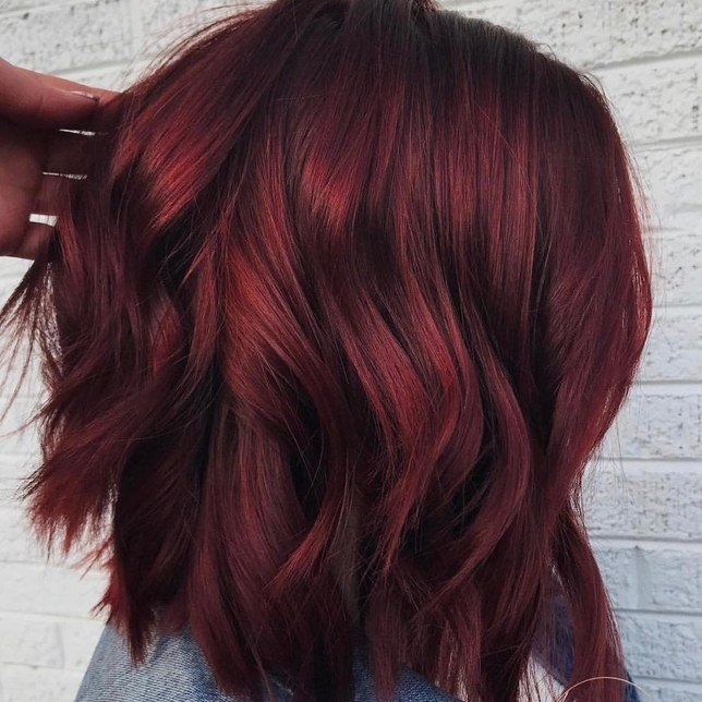 The Best Mulled Wine Hair Color Is Perfect For Winter Glamour Pictures