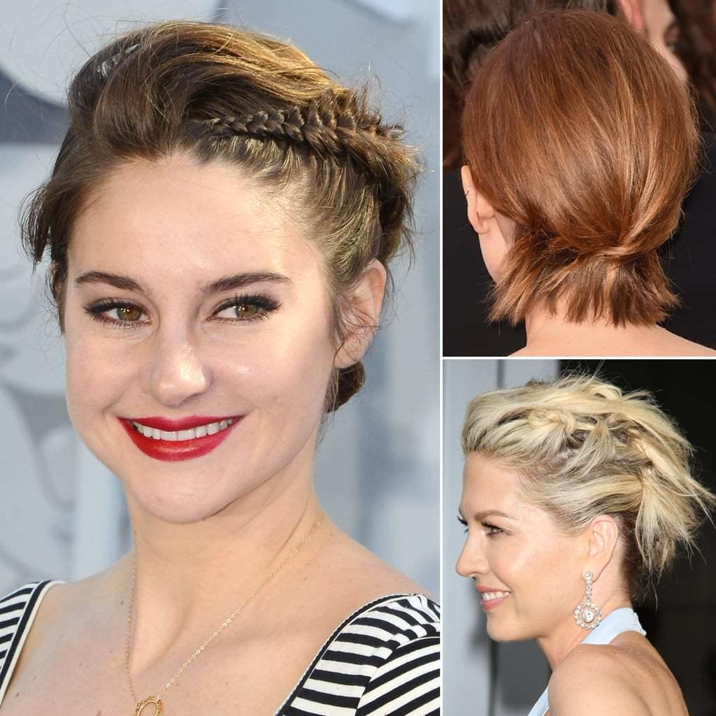 The Best How To Do Updos For Short Hair And Bobs Popsugar Beauty Uk Pictures