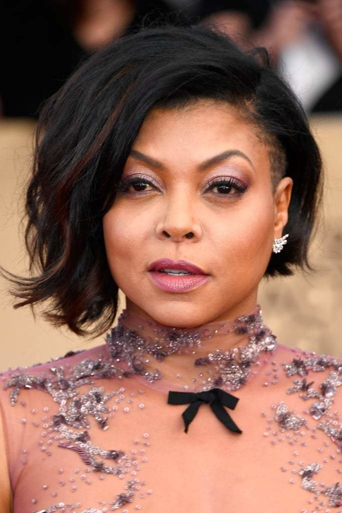 The Best Taraji P Henson S Hair And Makeup At The 2017 Sag Awards Pictures