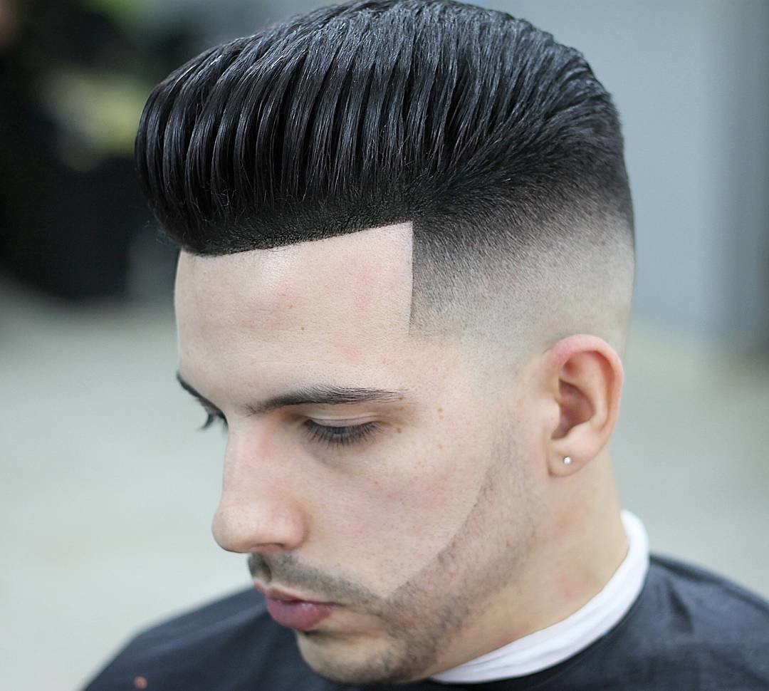 The Best Top 13 Latest Men S Pompadour Haircuts 2018 Pictures