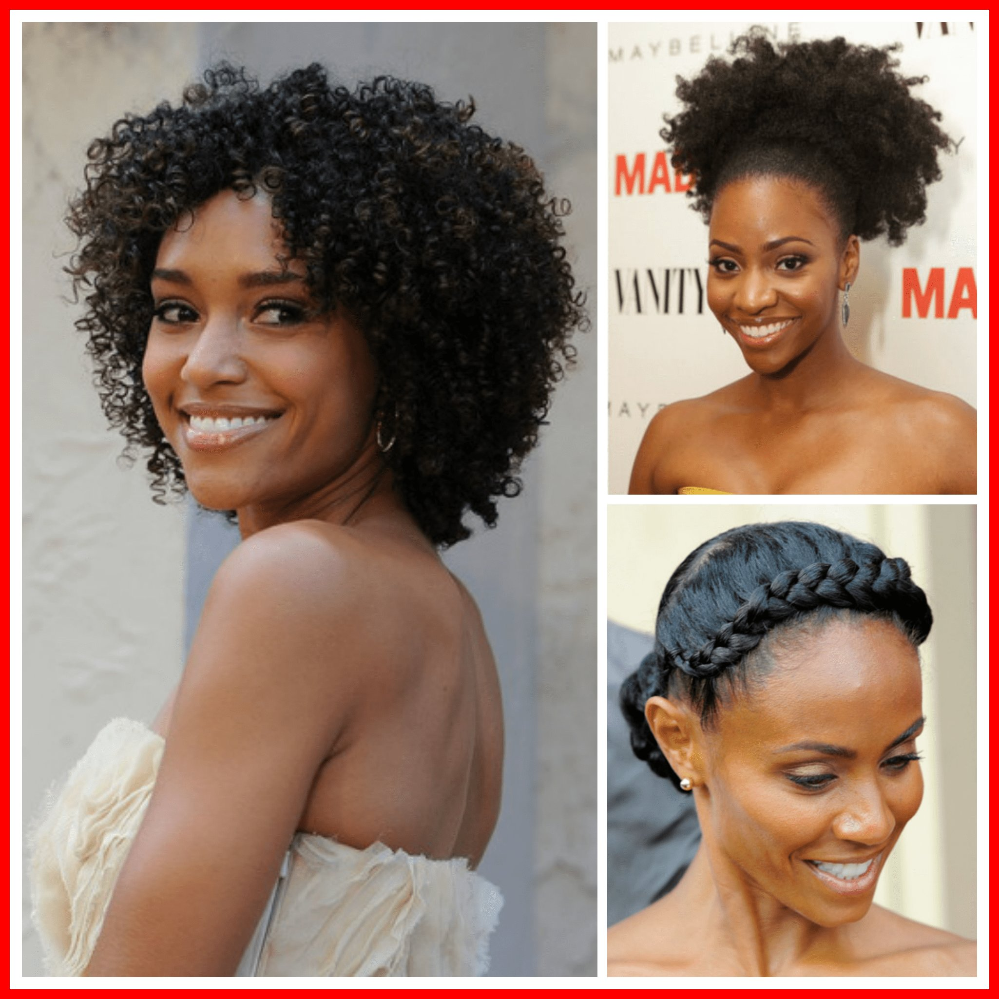 The Best Formal Hairstyle Ideas For Natural Hair My Curls Pictures
