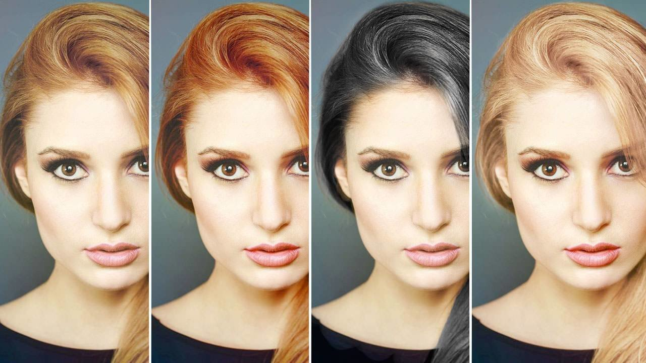 The Best How To Change Hair Color In Photoshop Pictures