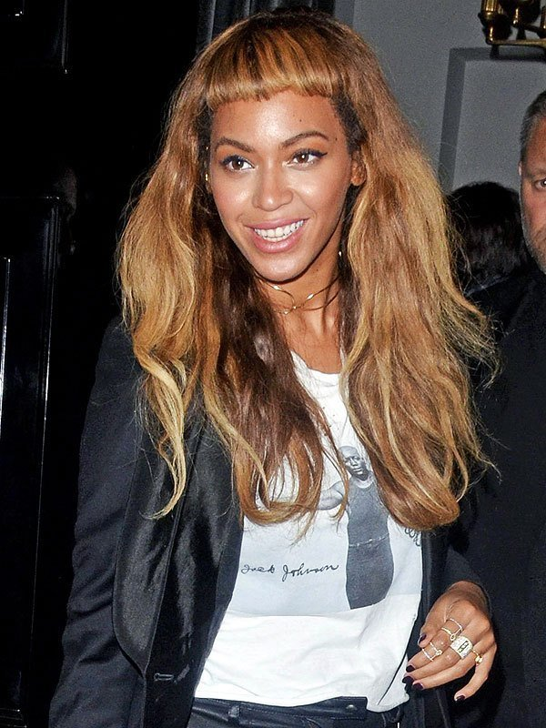 The Best Beyonce Bangs Beyonce Bad Bangs Beyonce Baby Bangs Photo Pictures