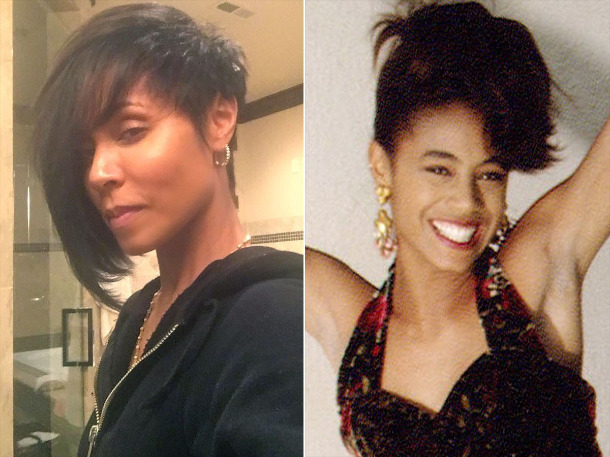 The Best Jada Pinkett Smith Gets A Dramatic New Haircut People Com Pictures