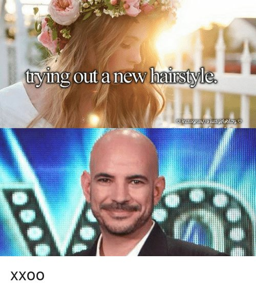 The Best Trying Out A New Hairstyle Xxoo Meme On Sizzle Pictures