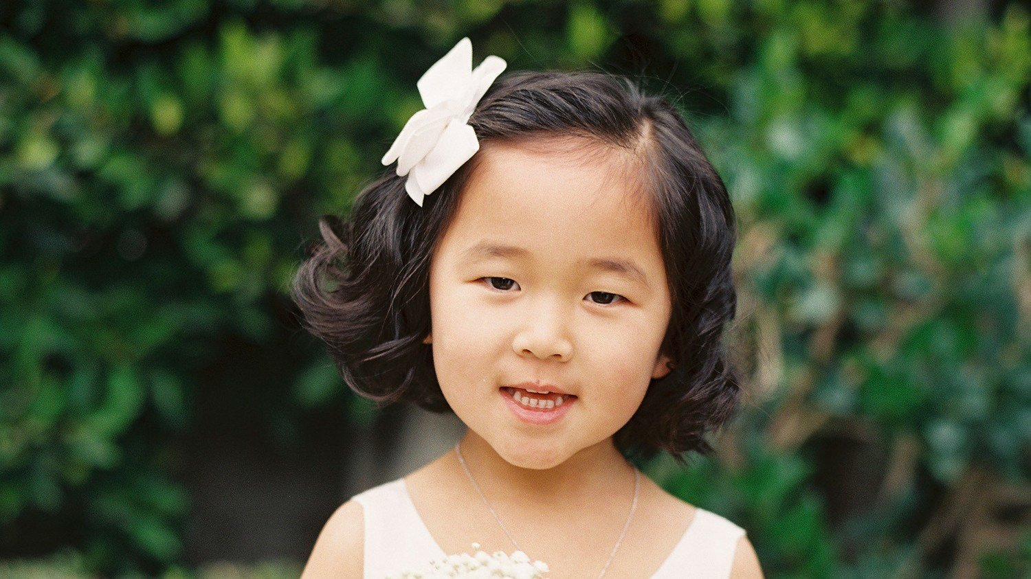 The Best Adorable Hairstyle Ideas For Your Flower Girls Martha Stewart Weddings Pictures