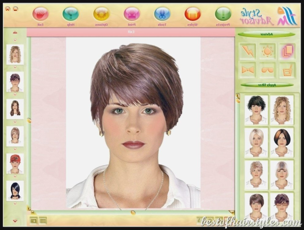 The Best Is Hairstyle Picker App The Most The Hairstyles Ideas Pictures