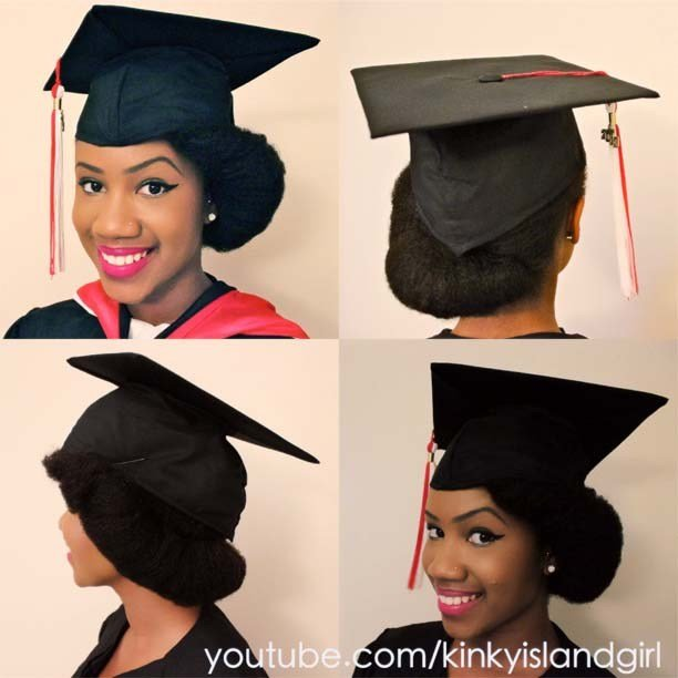 The Best The Perfect Graduation Cap Style For Natural Hair Bglh Pictures