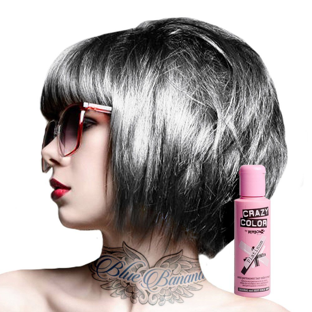 The Best Crazy Color Semi Permanent Hair Dye Cream By Renbow 100Ml Pictures
