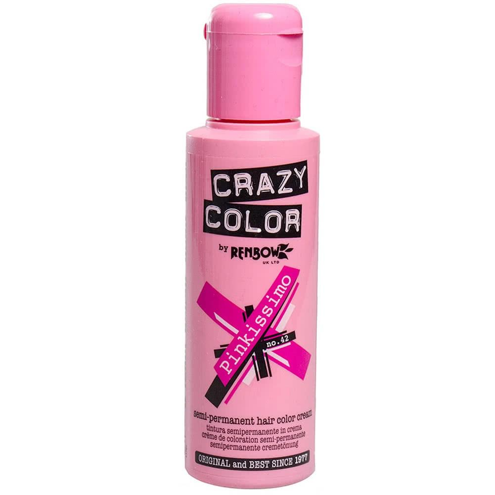 The Best Crazy Color Semi Permanent Pinkissimo Hair Dye 100Ml Hair Pictures