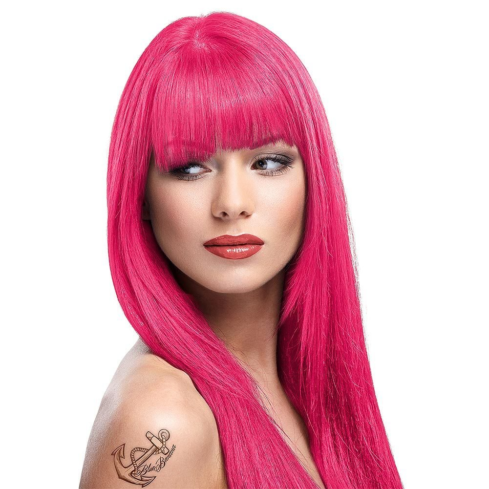 The Best La Riche Directions Flamingo Pink Colour Hair Dye Hair Pictures