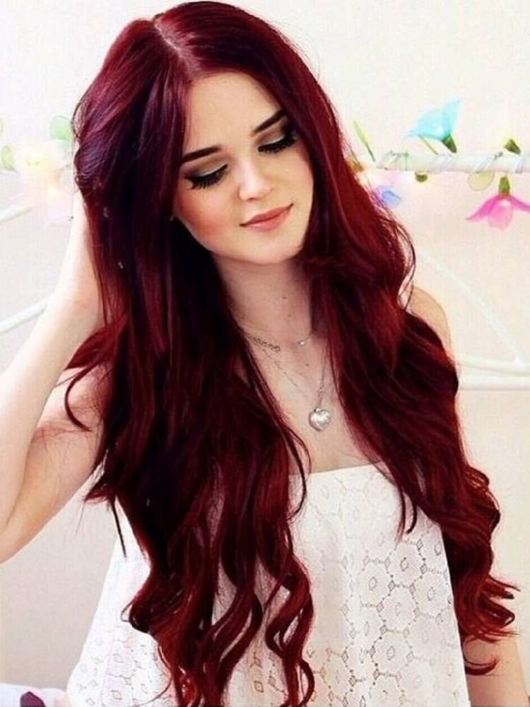 The Best 30 Best Dark Red Brown Hair Color Shades You Should Try Pictures