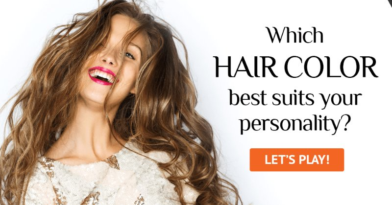 The Best Which Hair Color Best Suits Your Personality Test Quizzclub Pictures