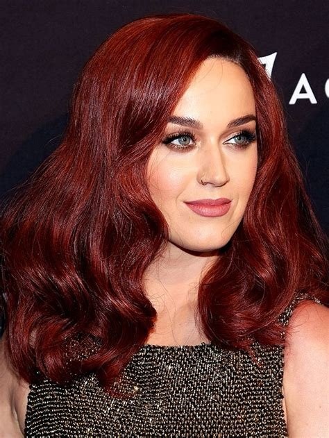 The Best 15 Celebs Who Made Dark Red Hair Colors Look So Badass Pictures
