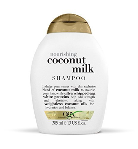 The Best Ogx Shampoo Nourishing Coconut Milk 13Oz Shampoos For Pictures